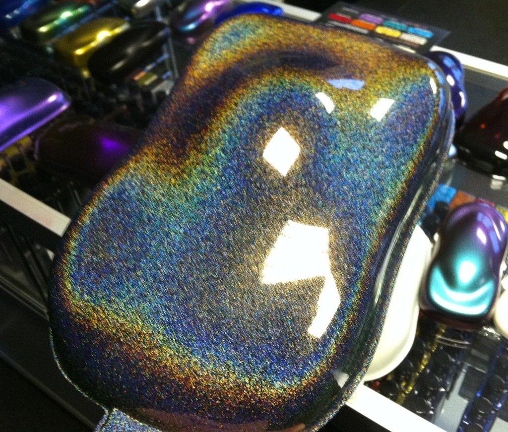 gloss metallic sparkle rainbow black cws vinyl wraps. Black Bedroom Furniture Sets. Home Design Ideas
