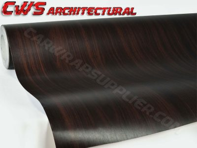 Architectural Wood Grain Vinyl - Mahogany Wood