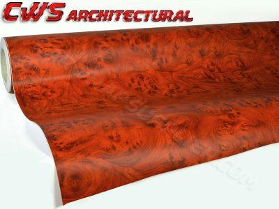 Architectural Wood Grain Vinyl - Rosewood