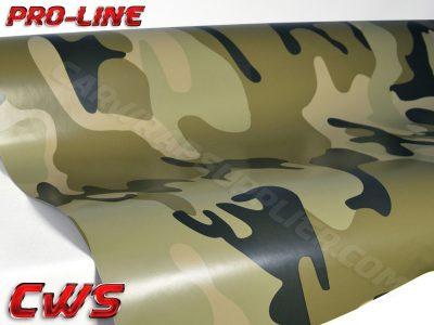 Camouflage Desert vinyl wrap