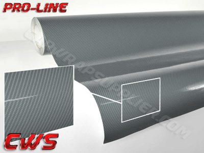 Gunmetal / Dark Gray TechArt Gloss Carbon Fiber Vehicle Vinyl Film