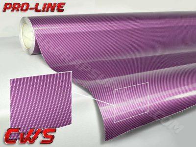 Purple TechArt Gloss Carbon Fiber Vehicle Vinyl Film